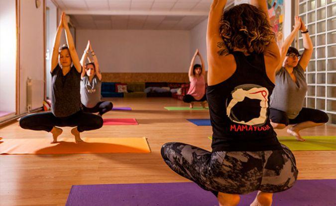 Yoga para embarazadas Mamayoga